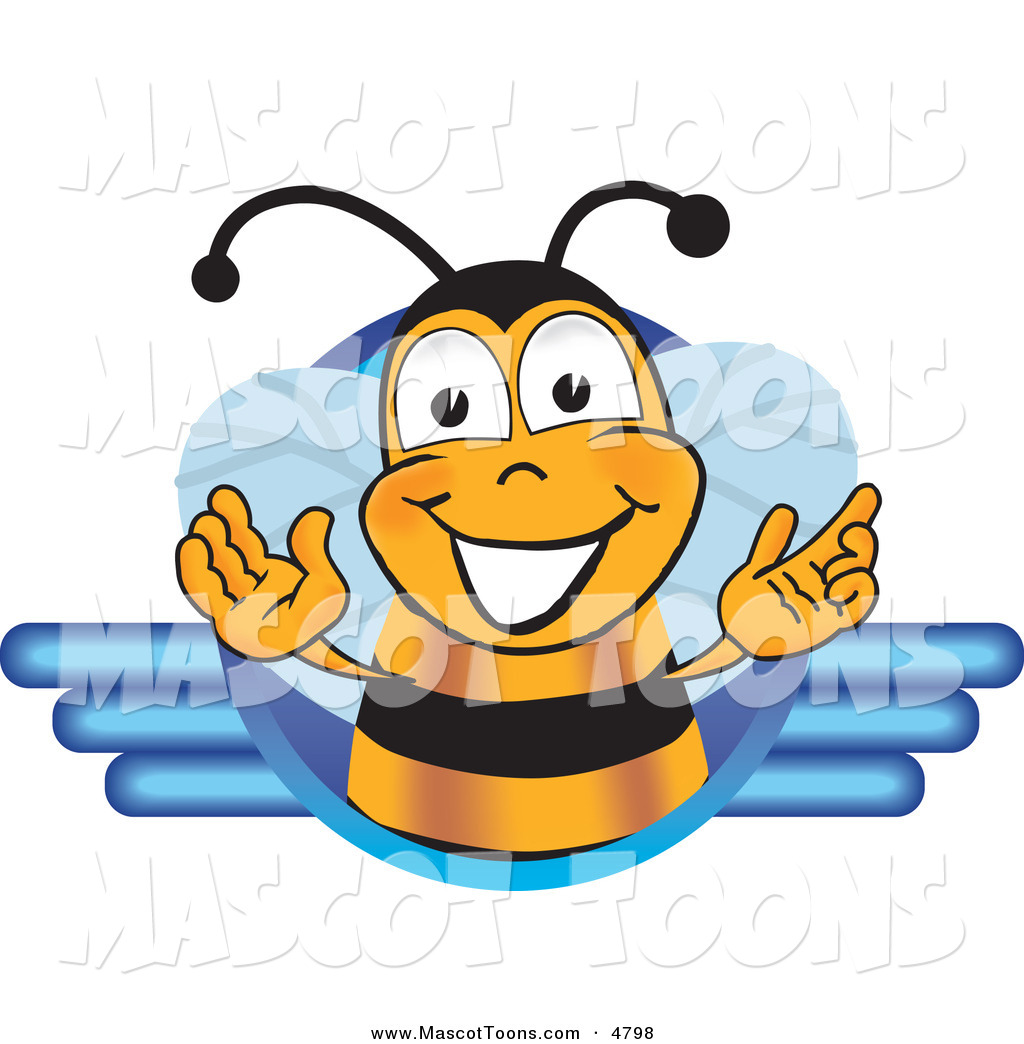 4 Cartoon Characters Wearing Black And Yellow : Pin bee mascot on pinterest