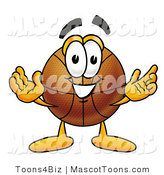 Vector Cartoon of a Basketball Mascot by Toons4Biz